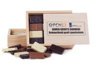3D chocolade dominospel