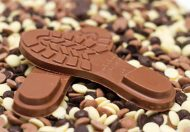 3D Chocolade schoenzool