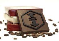 Logo in chocolade
